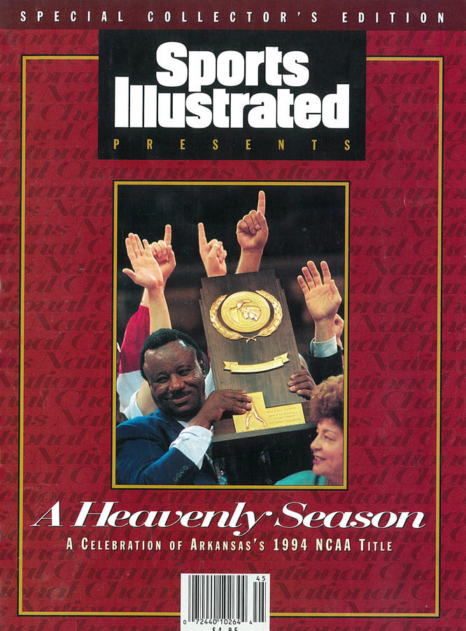 University Of Arkansas Coach Nolan Richardson, 1994 Ncaa Sports Illustrated Cover Photograph by Sports Illustrated