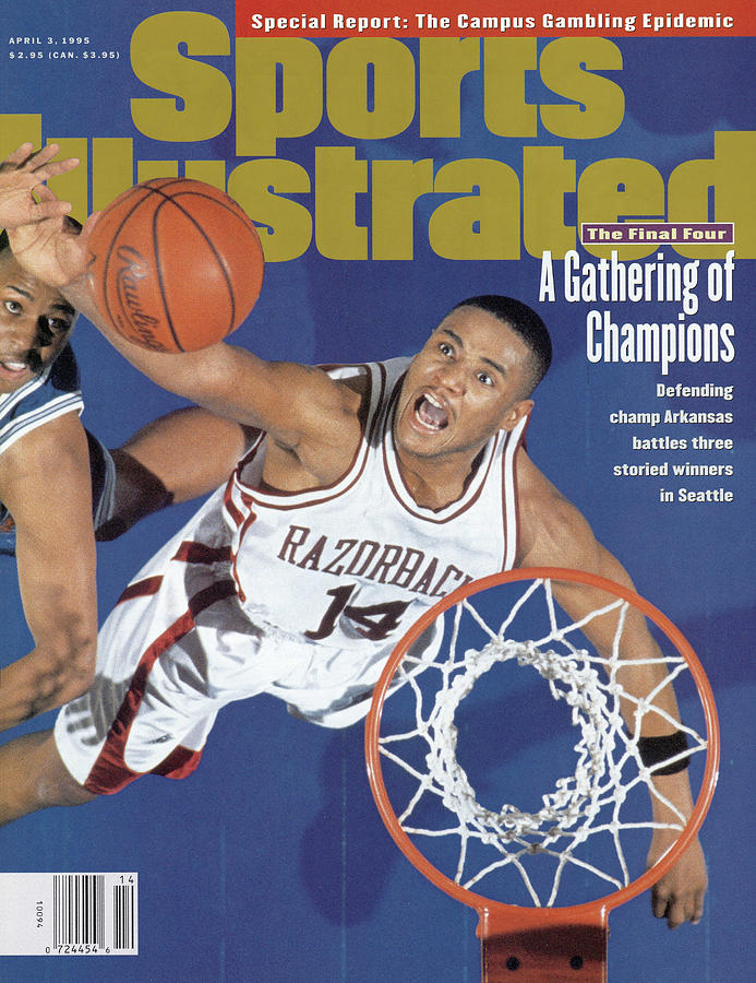 University Of Arkansas Corey Beck, 1995 Ncaa Midwest Sports Illustrated Cover Photograph by Sports Illustrated