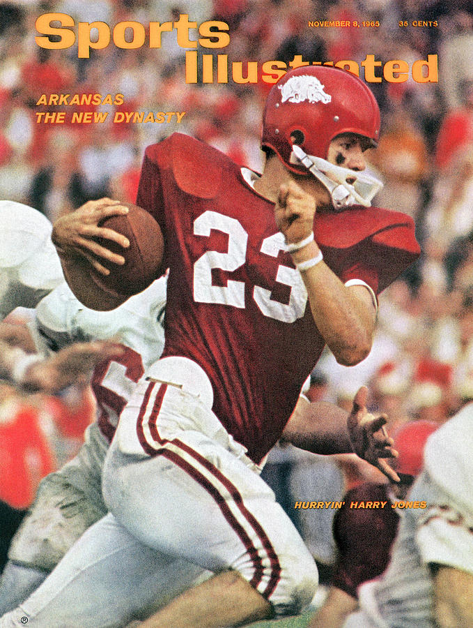 University Of Arkansas Harry Jones Sports Illustrated Cover Photograph by Sports Illustrated