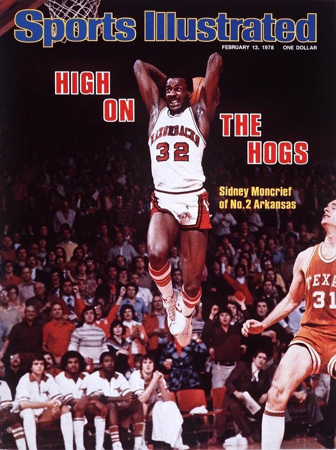 University Of Arkansas Sidney Moncrief Sports Illustrated Cover Photograph by Sports Illustrated
