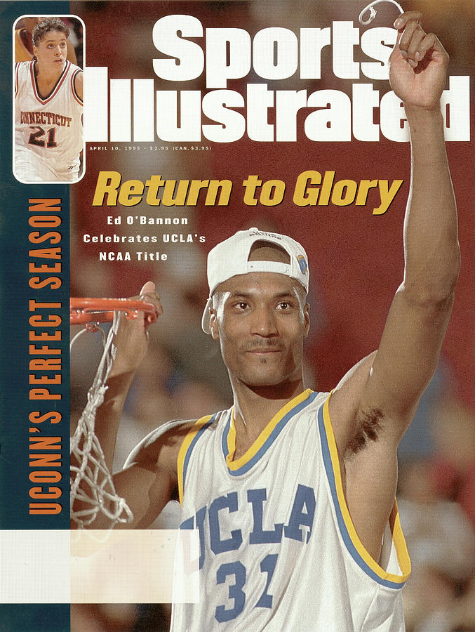 University Of California Los Angeles Ed Obannon, 1995 Ncaa Sports Illustrated Cover Photograph by Sports Illustrated