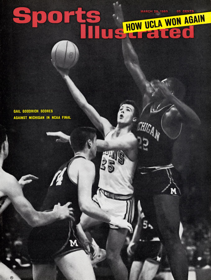 University Of California Los Angeles Gail Goodrich, 1965 Sports Illustrated Cover Photograph by Sports Illustrated