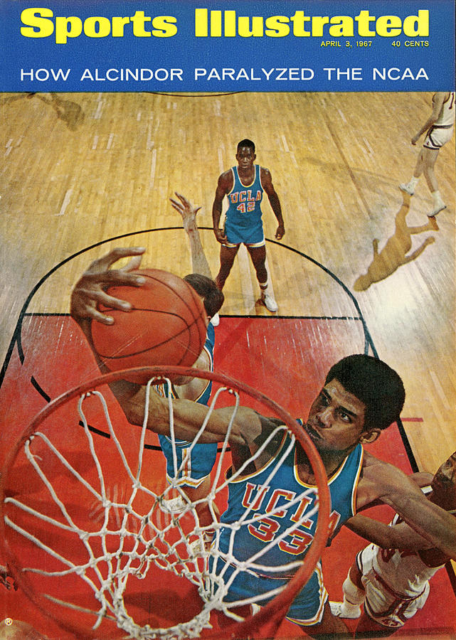 University Of California Los Angeles Lew Alcindor, 1967 Sports Illustrated Cover Photograph by Sports Illustrated