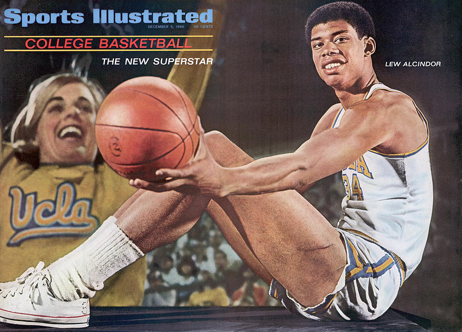 University Of California Los Angeles Lew Alcindor Sports Illustrated Cover Photograph by Sports Illustrated