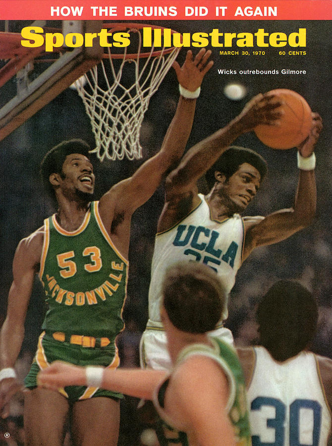 University Of California Los Angeles Sidney Wicks, 1970 Sports Illustrated Cover Photograph by Sports Illustrated