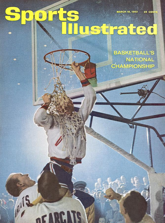 University Of Cincinnati Larry Shingleton, 1962 Ncaa Sports Illustrated Cover Photograph by Sports Illustrated
