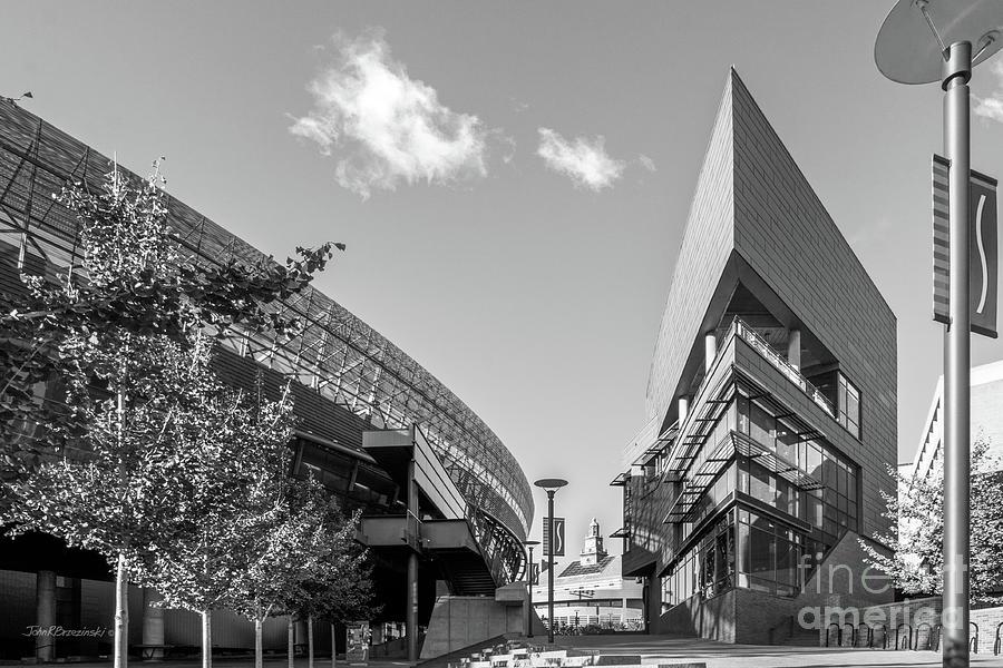 University Of Cincinnati Photograph - University Of Cincinnati Main Street by University Icons