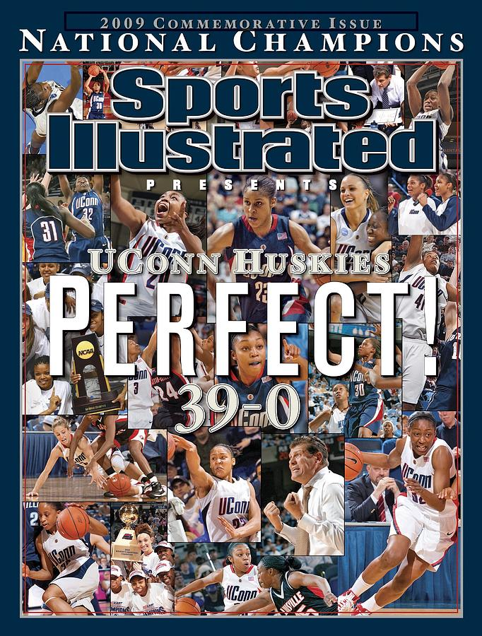 University Of Connecticut, 2009 Ncaa National Womens Sports Illustrated Cover Photograph by Sports Illustrated