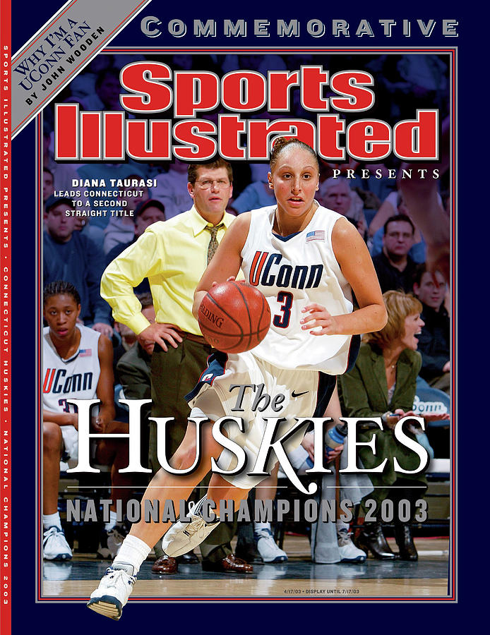 University Of Connecticut Diana Taurasi, 2003 Ncaa Womens Sports Illustrated Cover Photograph by Sports Illustrated