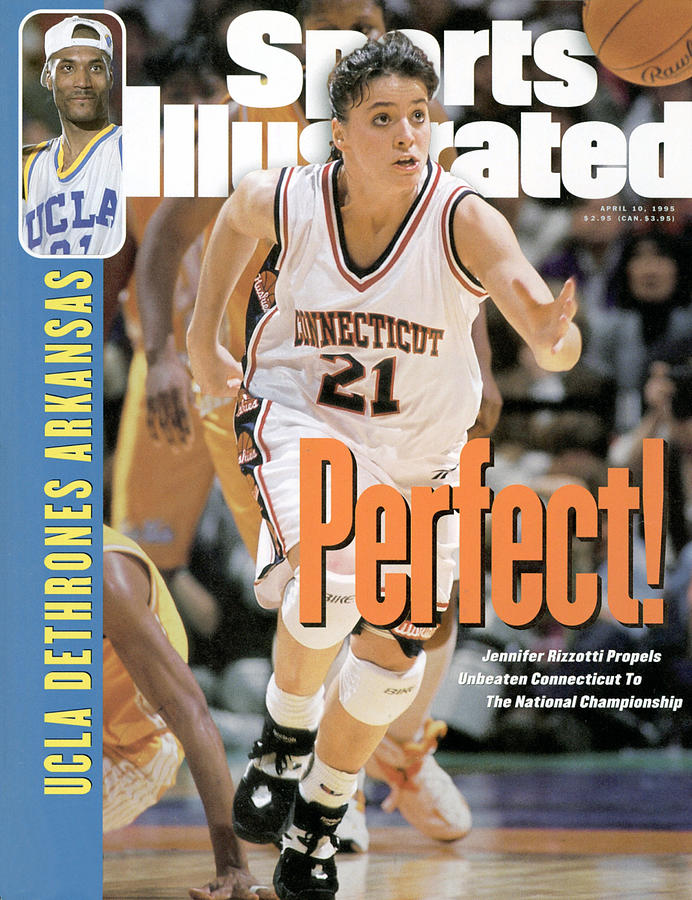 University Of Connecticut Jennifer Rizzotti, 1995 Ncaa Sports Illustrated Cover Photograph by Sports Illustrated