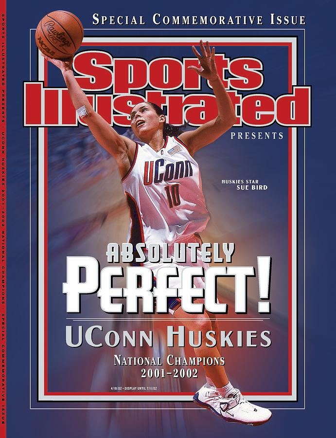 University Of Connecticut Sue Bird, 2002 Ncaa National Sports Illustrated Cover Photograph by Sports Illustrated