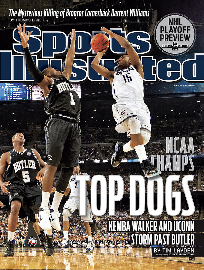 University Of Connecticut Vs Butler University, 2011 Ncaa Sports Illustrated Cover Photograph by Sports Illustrated
