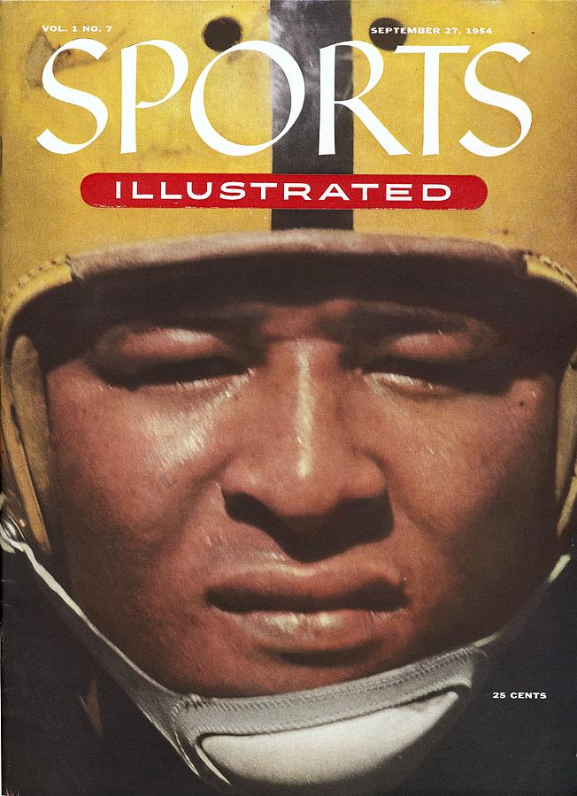 University Of Iowa Calvin Jones Sports Illustrated Cover Photograph by Sports Illustrated