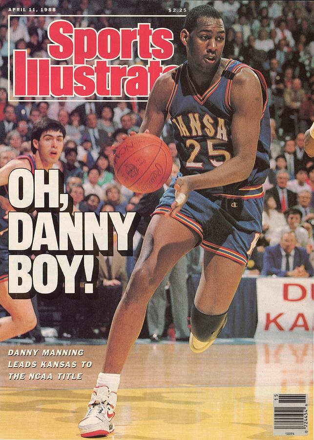University Of Kansas Danny Manning, 1988 Ncaa National Sports Illustrated Cover Photograph by Sports Illustrated