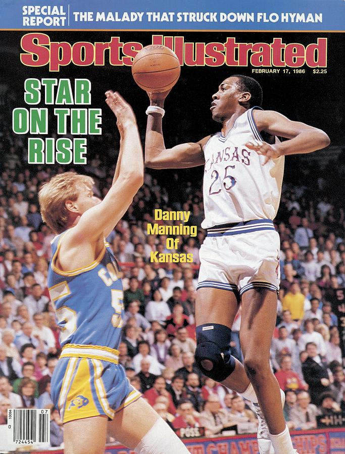 University Of Kansas Danny Manning Sports Illustrated Cover Photograph by Sports Illustrated