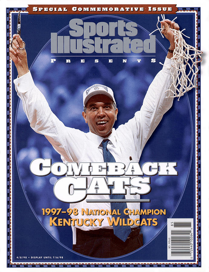 University Of Kentucky Coach Tubby Smith, 1998 Ncaa Sports Illustrated Cover Photograph by Sports Illustrated