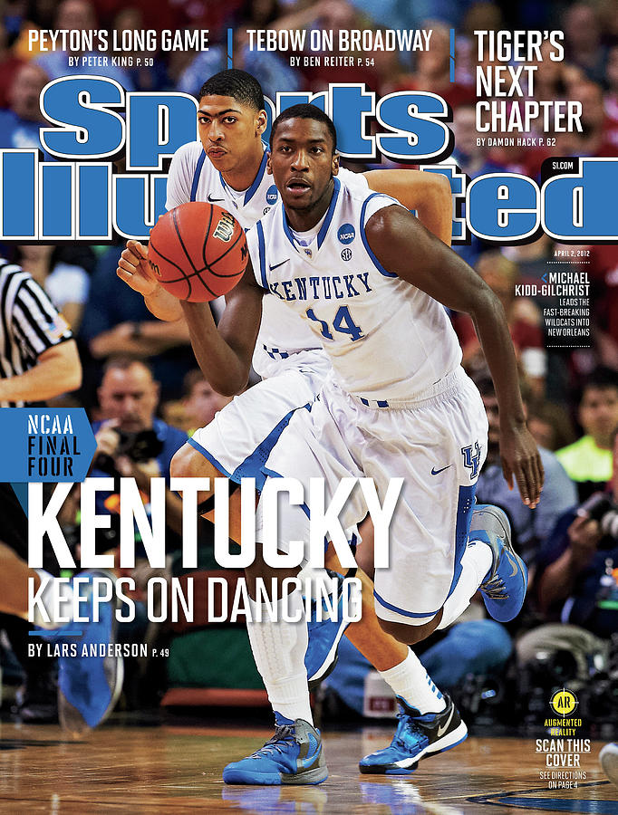 University Of Kentucky Michael Kidd-gilchrist, 2012 Ncaa Sports Illustrated Cover Photograph by Sports Illustrated
