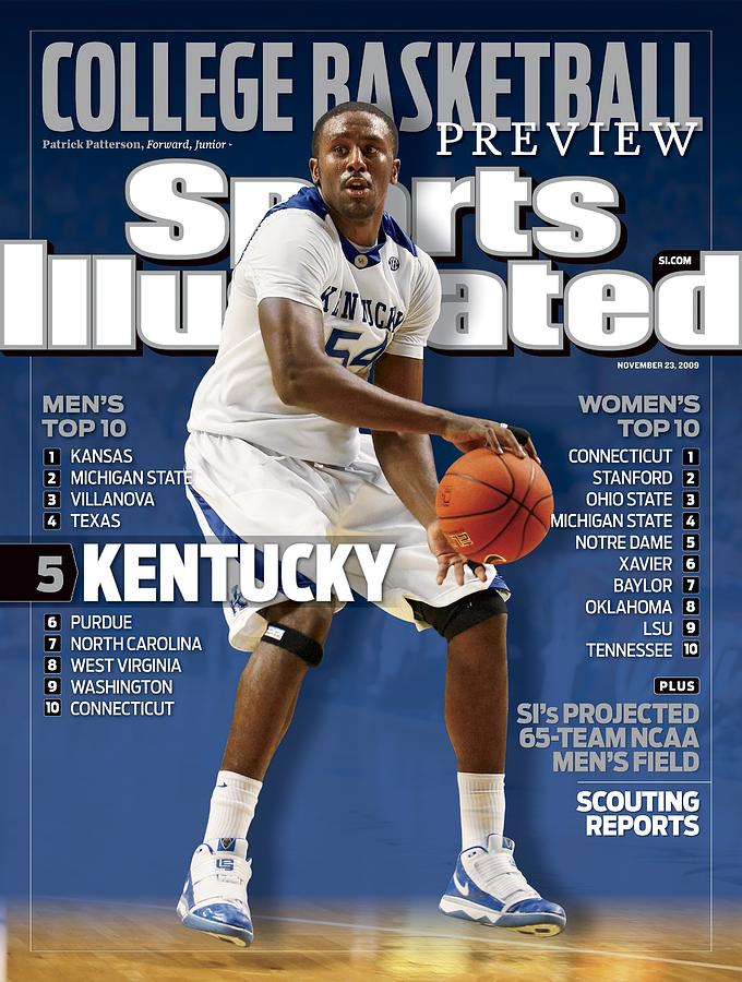 University Of Kentucky Patrick Patterson Sports Illustrated Cover Photograph by Sports Illustrated