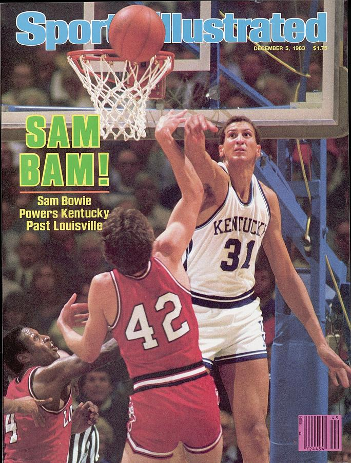 University Of Kentucky Sam Bowie Sports Illustrated Cover Photograph by Sports Illustrated