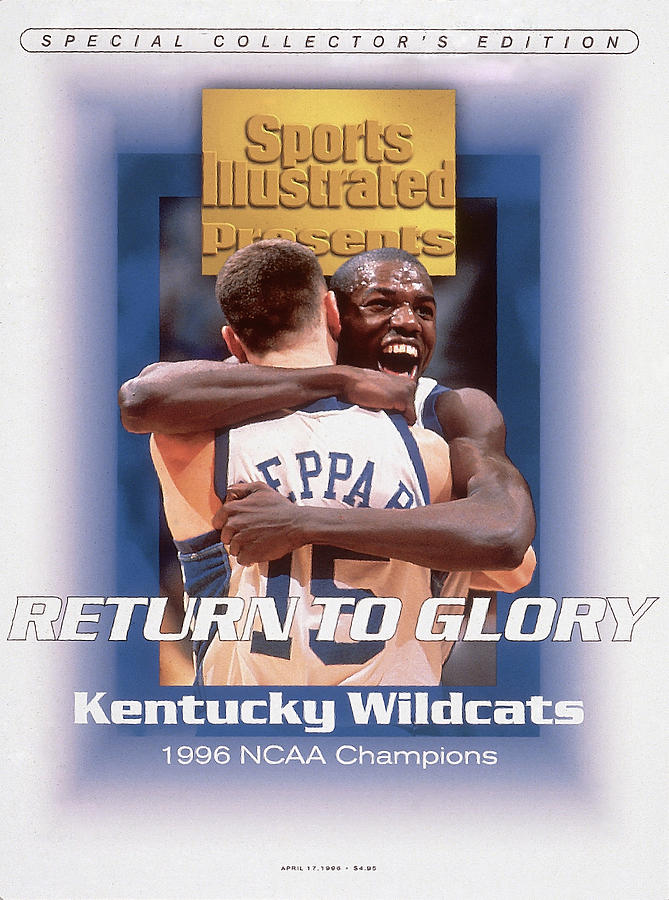 University Of Kentucky Tony Delk, 1996 Ncaa National Sports Illustrated Cover Photograph by Sports Illustrated