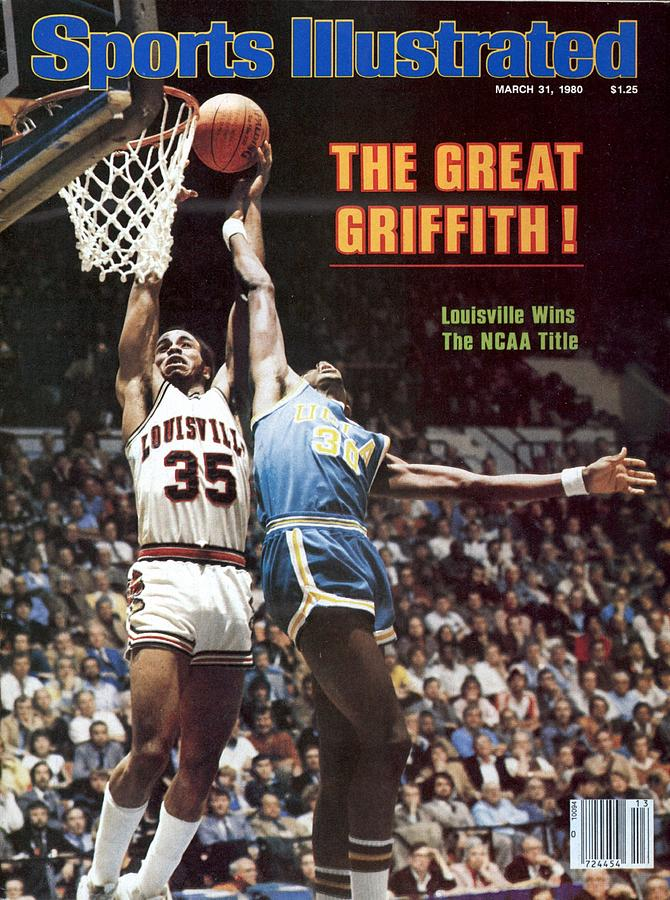 University Of Louisville Darrell Griffith, 1980 Ncaa Sports Illustrated Cover Photograph by Sports Illustrated