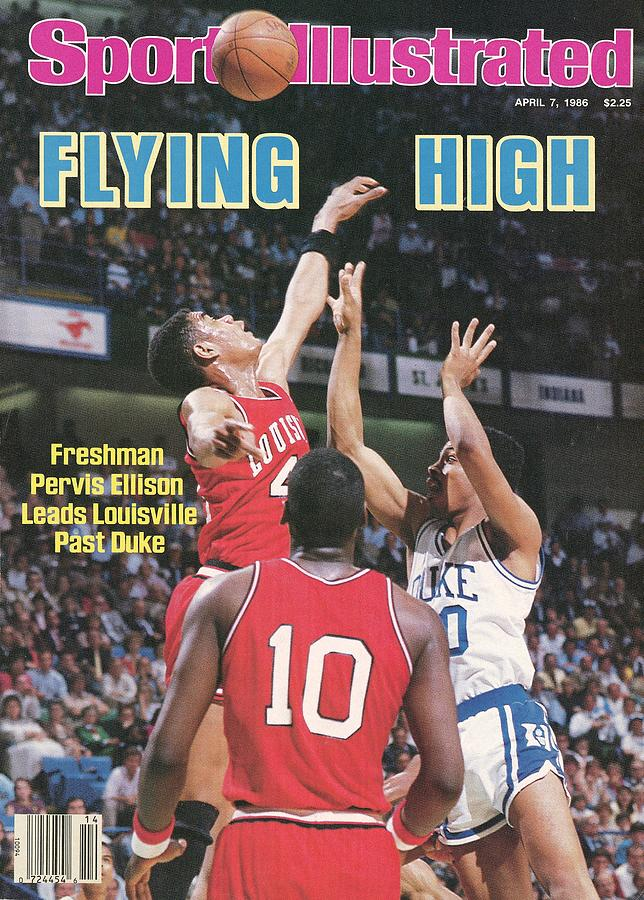 University Of Louisville Pervis Ellison, 1986 Ncaa National Sports Illustrated Cover Photograph by Sports Illustrated
