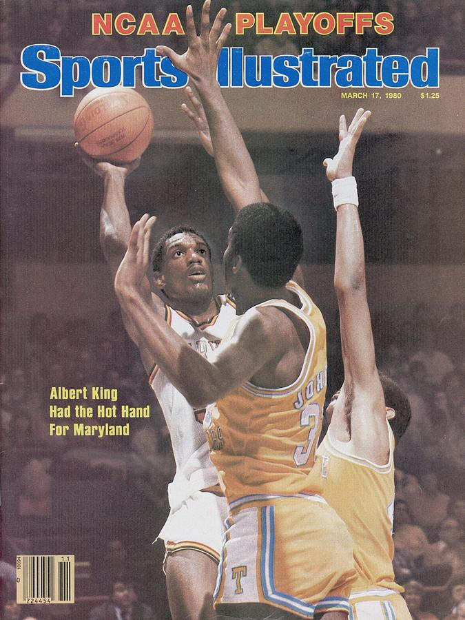 University Of Maryland Albert King, 1980 Ncaa Eastern Sports Illustrated Cover Photograph by Sports Illustrated