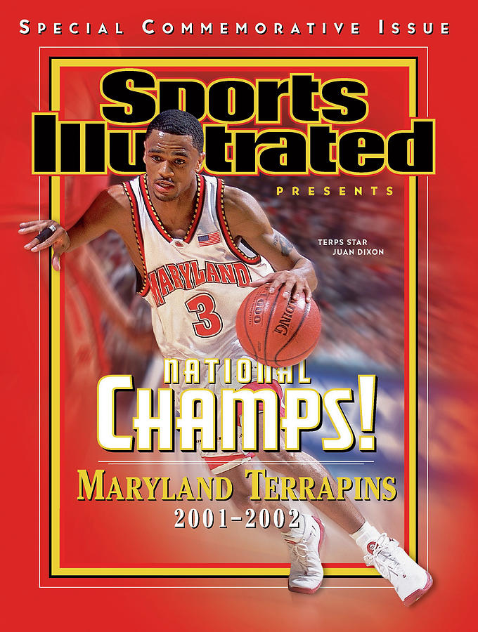 University Of Maryland Juan Dixon, 2002 Ncaa National Sports Illustrated Cover Photograph by Sports Illustrated