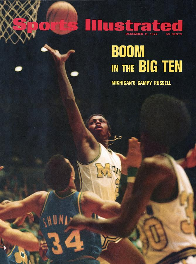 University Of Michigan Campy Russell Sports Illustrated Cover Photograph by Sports Illustrated