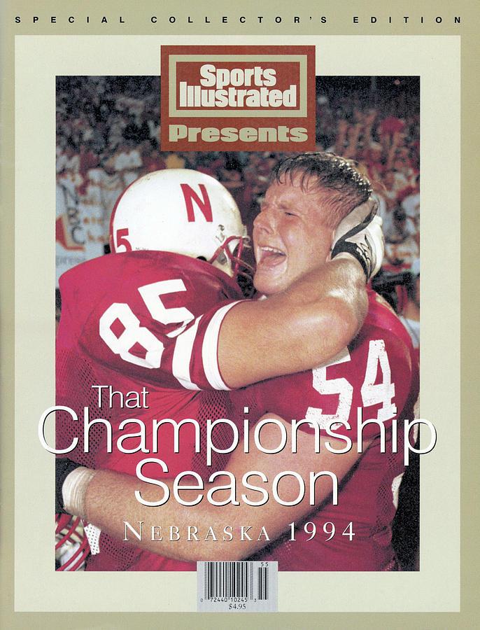 University Of Nebraska Aaron Graham And Matt Shaw, 1995 Sports Illustrated Cover Photograph by Sports Illustrated
