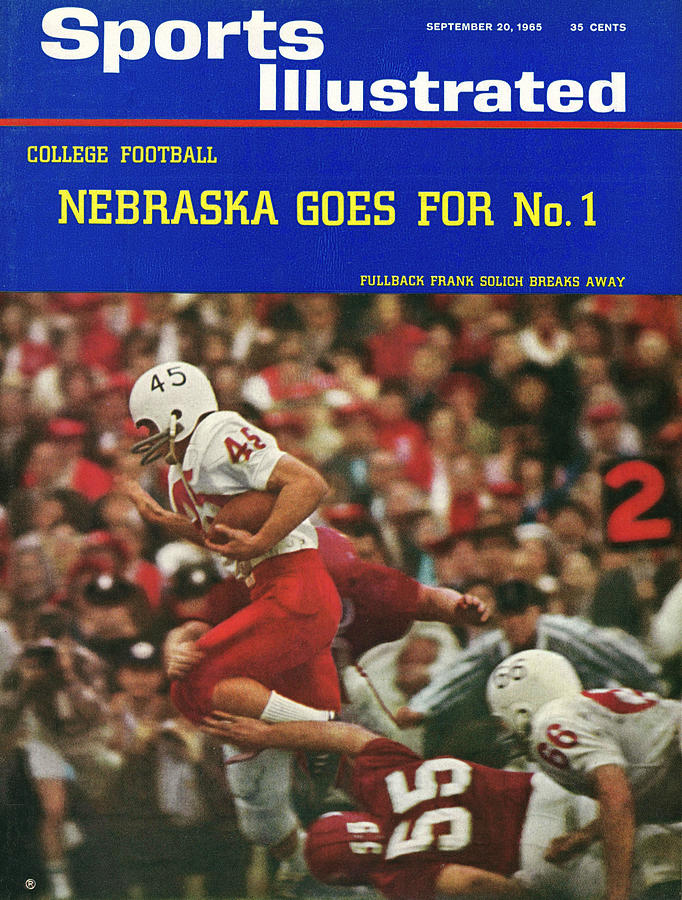 University Of Nebraska Frank Solich, 1965 Cotton Bowl Sports Illustrated Cover Photograph by Sports Illustrated