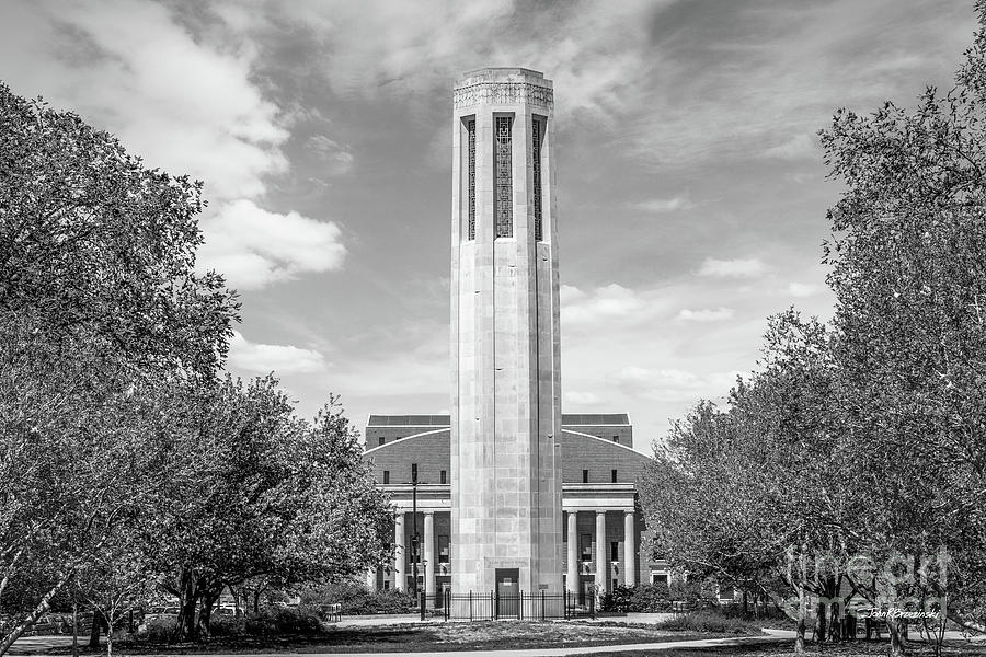 University of Nebraska Mueller Tower by University Icons