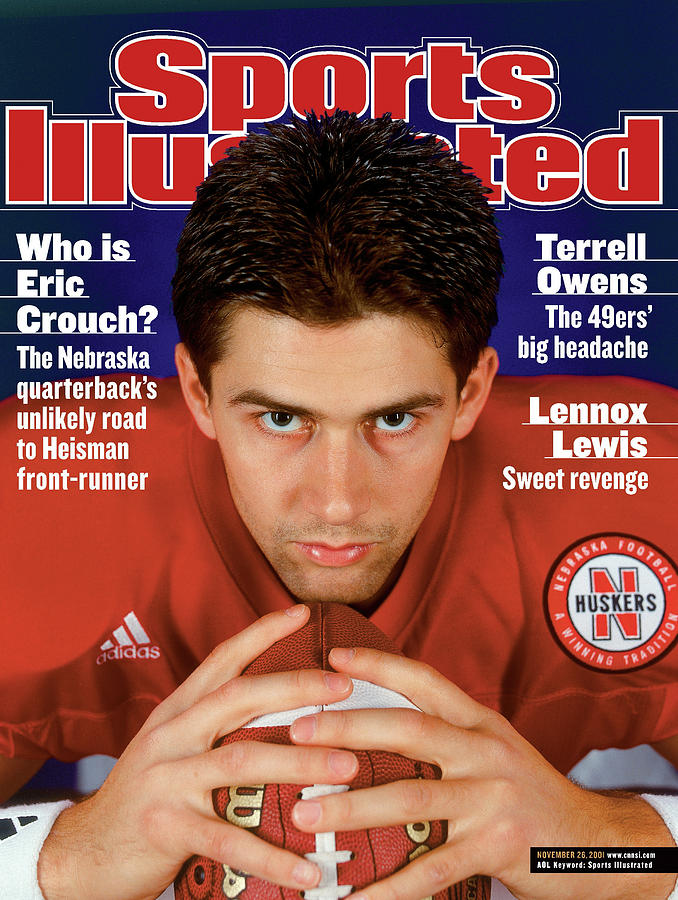 University Of Nebraska Qb Eric Crouch Sports Illustrated Cover Photograph by Sports Illustrated
