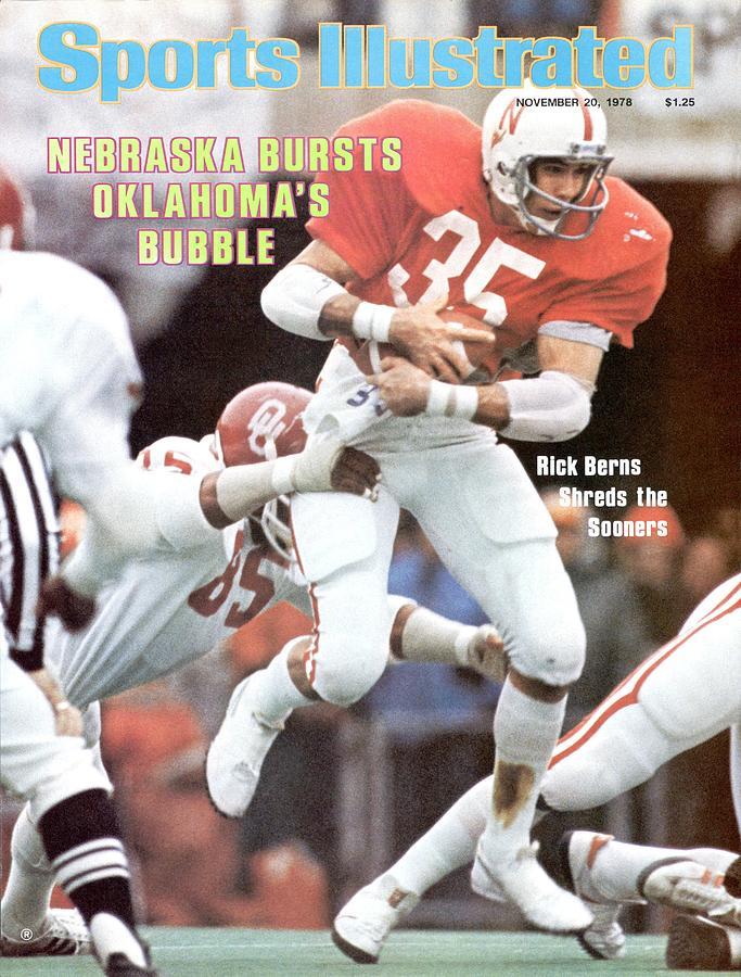 University Of Nebraska Rick Berns Sports Illustrated Cover Photograph by Sports Illustrated