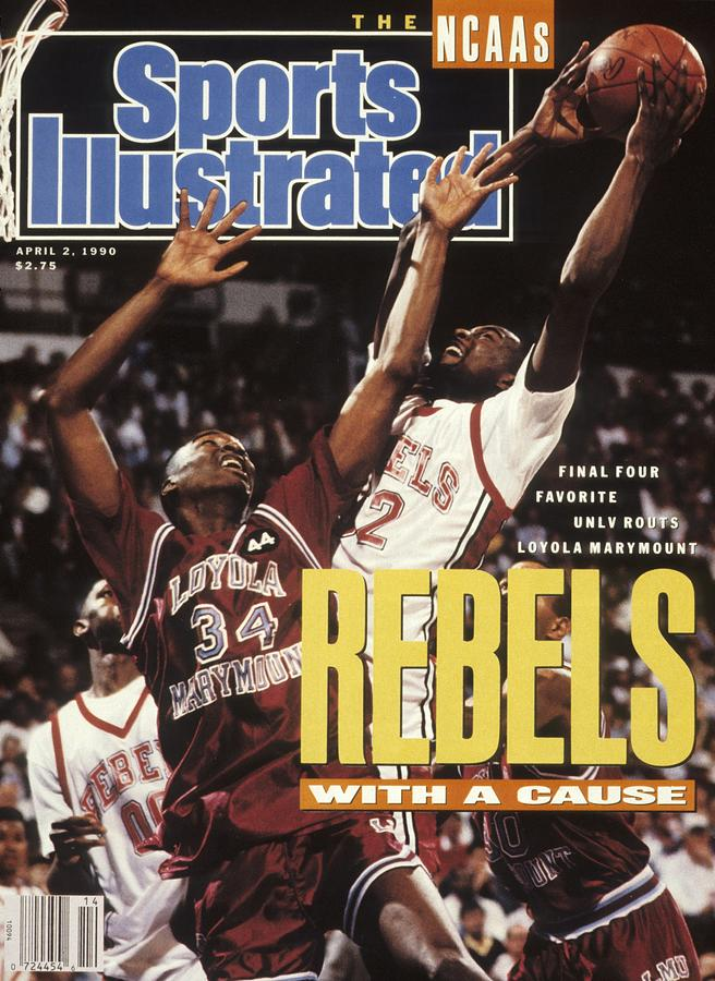 University Of Nevada Las Vegas Stacey Augmon, 1990 Ncaa Sports Illustrated Cover Photograph by Sports Illustrated