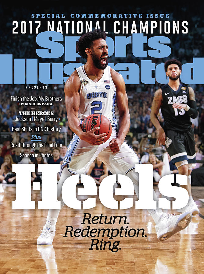 University Of North Carolina, 2017 Ncaa National Champions Sports Illustrated Cover Photograph by Sports Illustrated