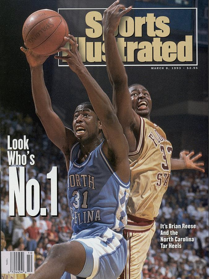 University Of North Carolina Brian Reese Sports Illustrated Cover Photograph by Sports Illustrated