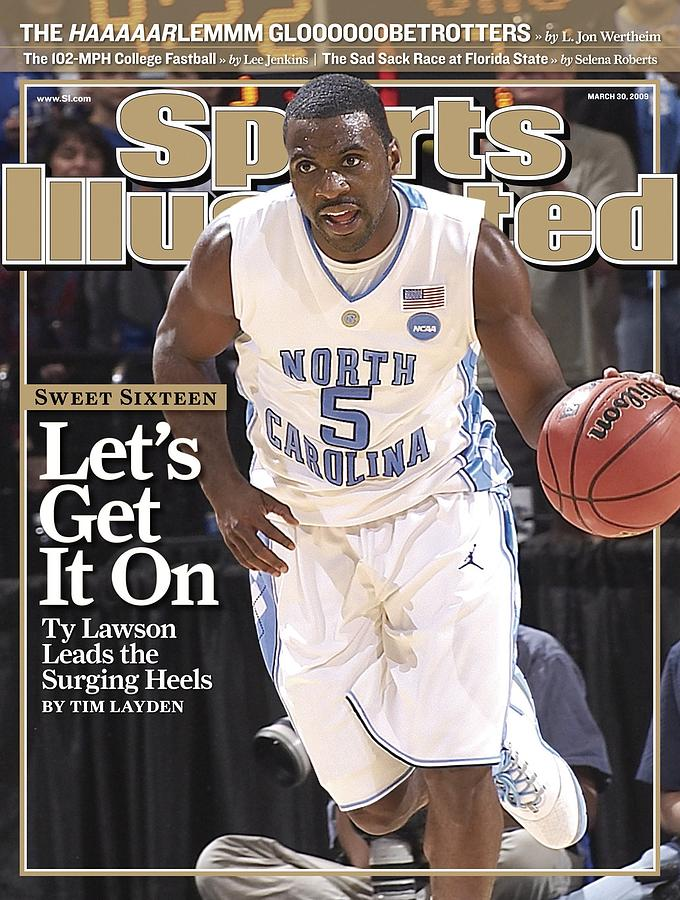 University Of North Carolina Ty Lawson, 2009 Ncaa South Sports Illustrated Cover Photograph by Sports Illustrated