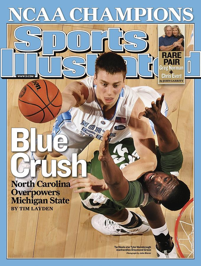 University Of North Carolina Tyler Hansbrough, 2009 Ncaa Sports Illustrated Cover Photograph by Sports Illustrated