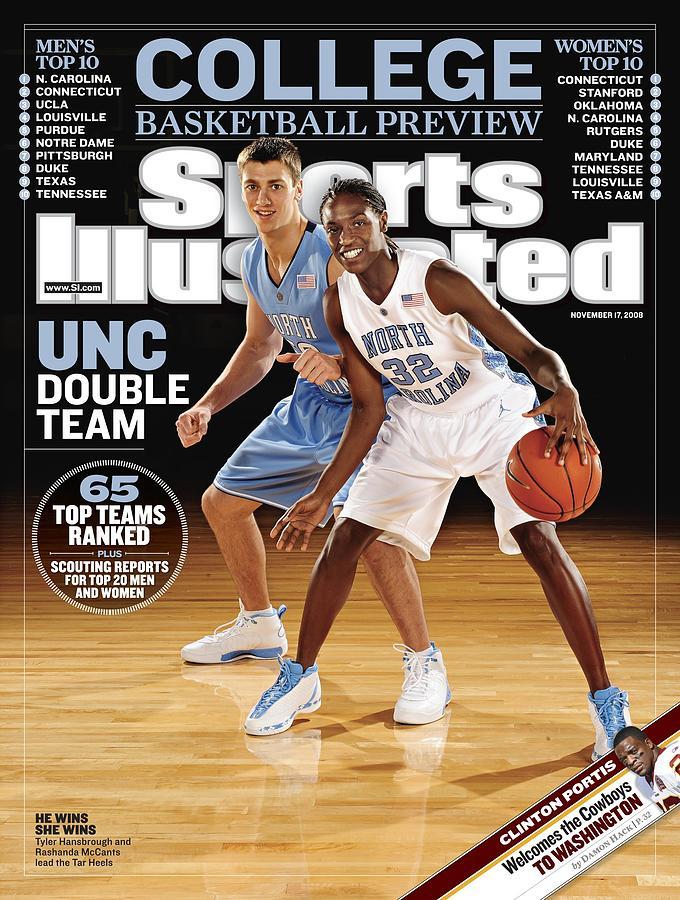 University Of North Carolina Tyler Hansbrough And Rashanda Sports Illustrated Cover Photograph by Sports Illustrated