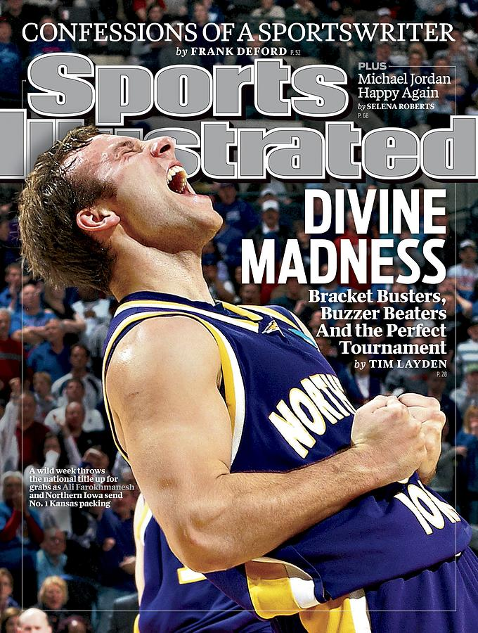 University Of Northern Iowa Ali Farokhmanesh, 2010 Ncaa Sports Illustrated Cover Photograph by Sports Illustrated