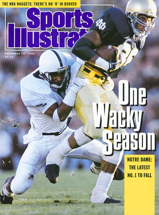 University Of Notre Dame Derek Brown Sports Illustrated Cover Photograph by Sports Illustrated