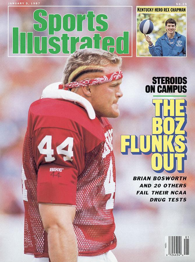 University Of Oklahoma Brian Bosworth, Steroids On Campus Sports Illustrated Cover Photograph by Sports Illustrated