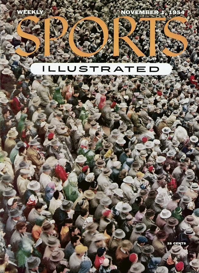 University Of Oklahoma Fans Sports Illustrated Cover Photograph by Sports Illustrated