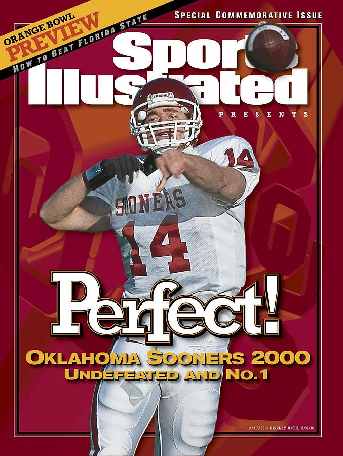 University Of Oklahoma Qb Josh Heupel Sports Illustrated Cover Photograph by Sports Illustrated