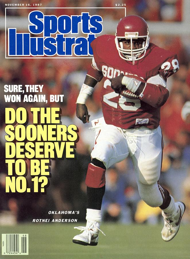University Of Oklahoma Rotnei Anderson Sports Illustrated Cover Photograph by Sports Illustrated