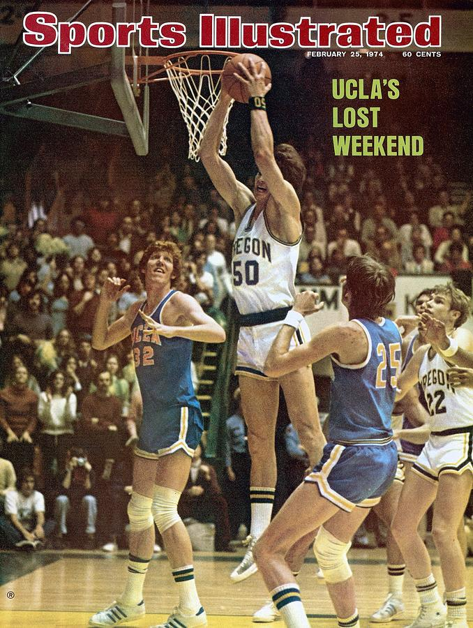 University Of Oregon Gerald Willett Sports Illustrated Cover Photograph by Sports Illustrated