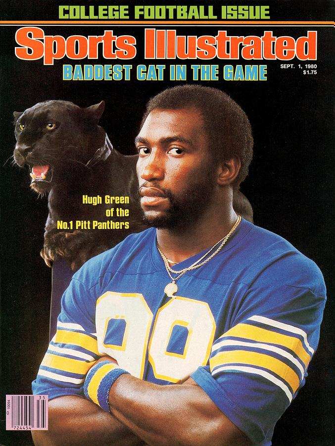 University Of Pittsburgh Hugh Green Sports Illustrated Cover Photograph by Sports Illustrated