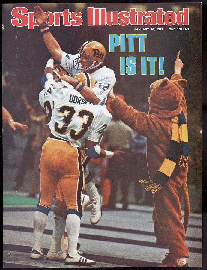 University Of Pittsburgh Qb Matt Cavanaugh, 1977 Sugar Bowl Sports Illustrated Cover Photograph by Sports Illustrated