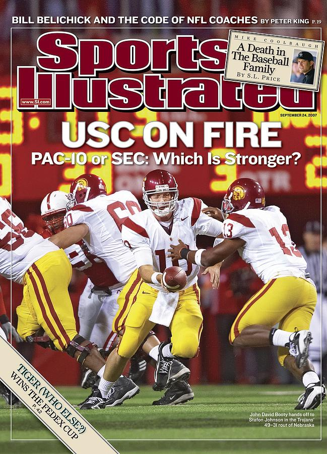 University Of Southern California Qb John David Booty Sports Illustrated Cover Photograph by Sports Illustrated